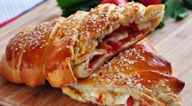 Yeşil Elma Örgü Pizza Tarifi 14.04.2015