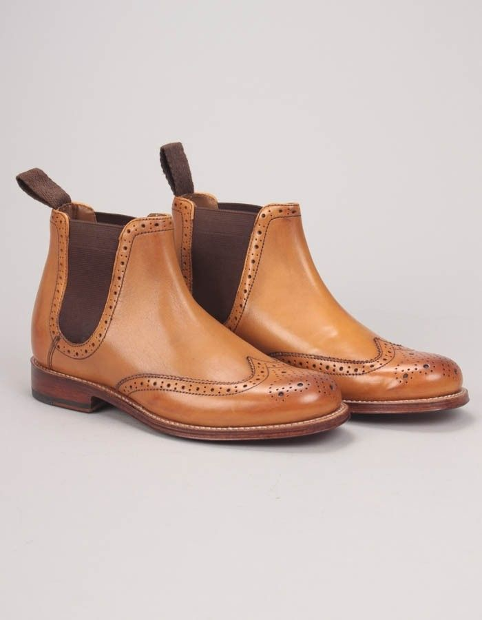 Grenson Jessie Chelsea Boot Tan | Accent Clothing