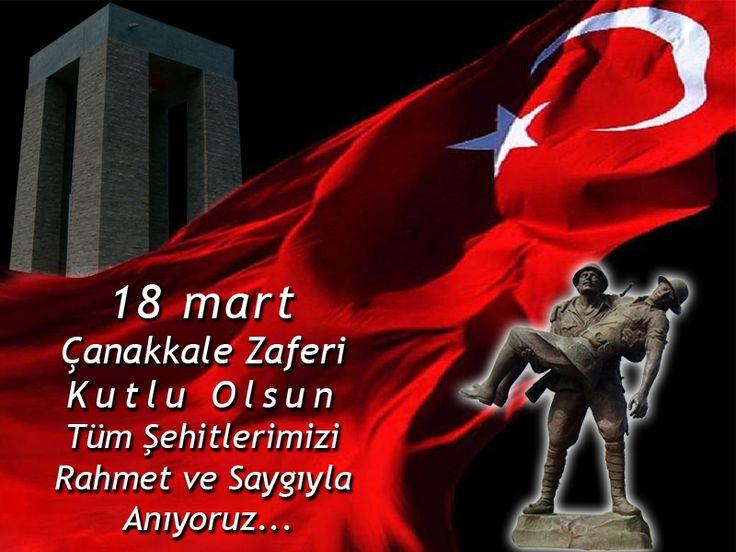 18 Mart Çanakkale Zaferi Kutlu Olsun. Tüm Şehitlerimizi Rahmet ve Saygıyla Anıyoruz...