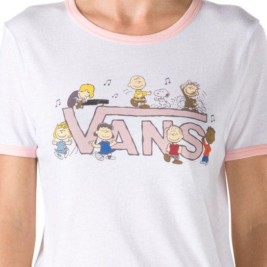 Vans X Peanuts Dance Party Ringer Tee | Vans