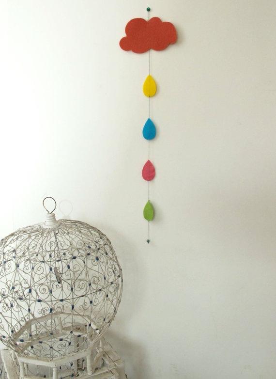Cloud and rain: Crafty Stuff, Decor Crafts, Apartment Plans, Craft Ideas, Party Ideas