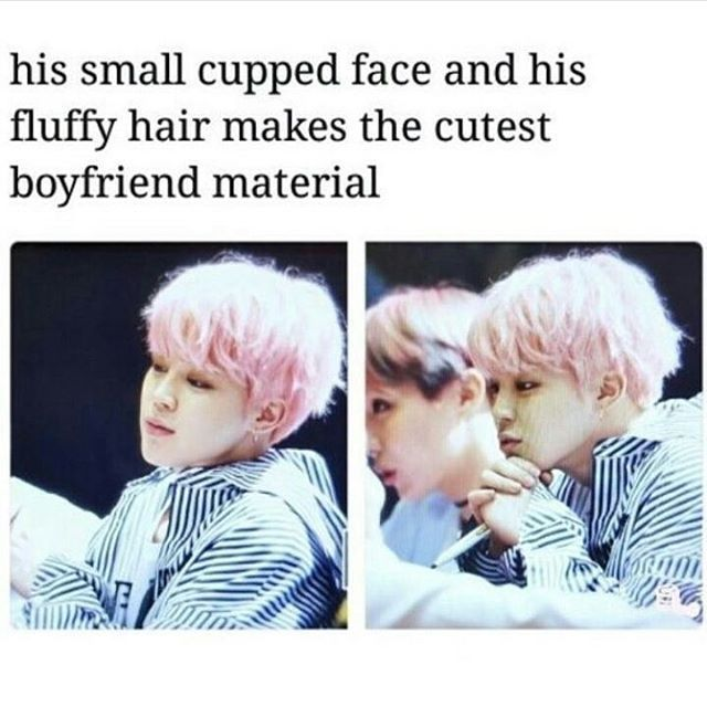 he's boyfriend material just by the way he acts