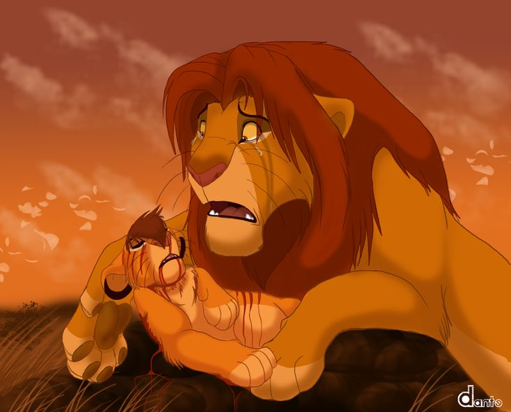 A Fathers Tears by Dante211 A fan-created idea that Simba ...