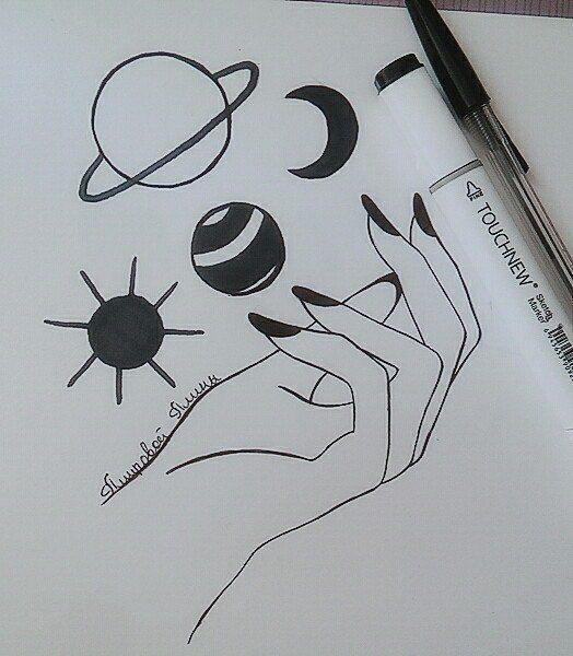 Классные картинки для лд карандашом легко и красиво, день