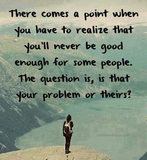 Whose problem