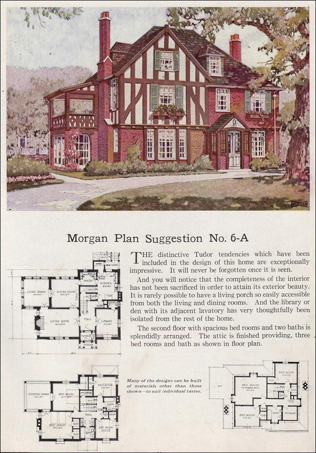 539 best images about cool home plans on pinterest kit for Tudor floor plans