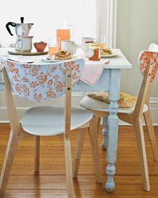 diy chair decor with adhesives sheet