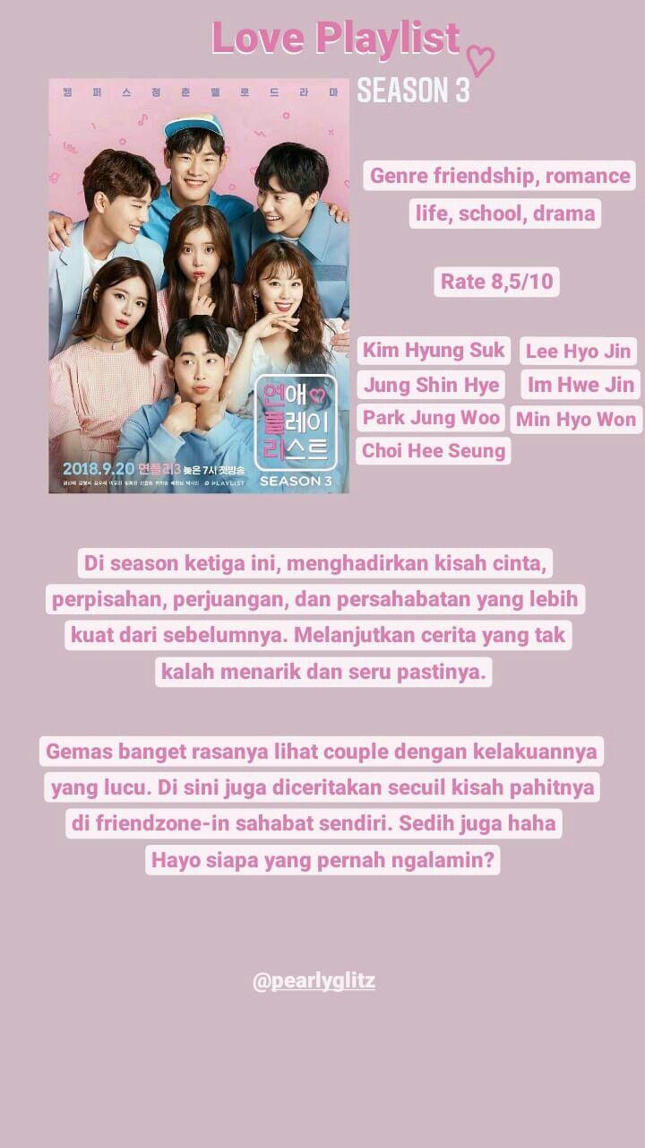 Rekomendasi Web Drama Korea : rekomendasi, drama, korea, Rekomendasi, Drama, Korea, #webdrama, #loveplaylist, #season3, Drama,, Pejuang,