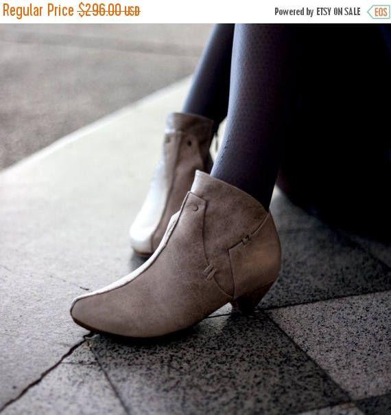 50% winter verkoop vrouwen schoenen beige laarsjes beige