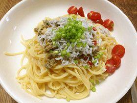おつまみしじみとしらすの冷製スパゲッティ  #recipe #Japanese #pasta #shijimi_clam