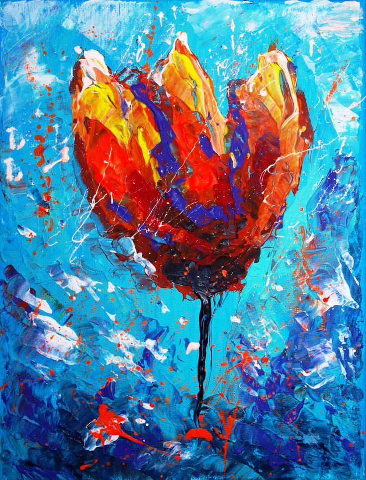 Winter Tulip (18 cm x 24 cm )