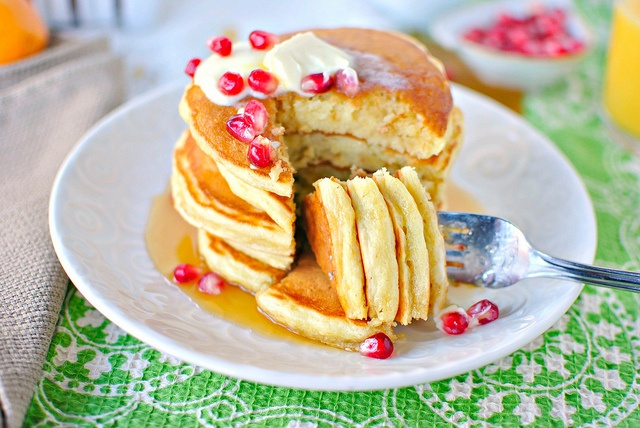 Eggnog Pancakes | Recipe