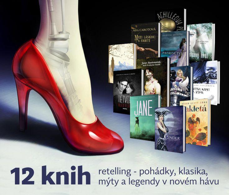 NEOLUXOR: Objevte kouzlo retellingu s těmito 12 knihami