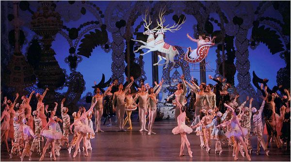 Dance Review - Nutcracker - New York City Ballet