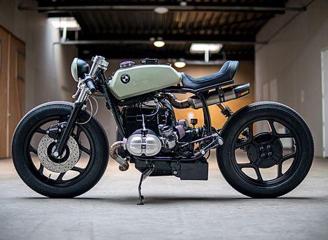 BMW R80 mutant custom café racer by ironwood motorcycles | Netfloor USA