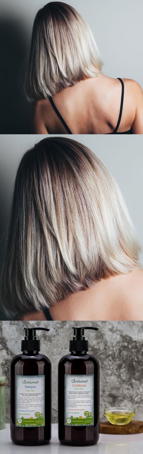 I have had grey/white hair for about 3 years now. It's starting to get lots of white in it. I was concerned about it getting brassy, yellow tones in it. I have researched other shampoos that are purple on the market. There are NONE on the market that have