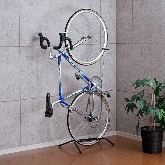 お気に入りの自転車を室内にすっきり設置できる縦置き&横置き自転車スタンドを10月28日発売|サンワサプライ株式会社のプレスリリース