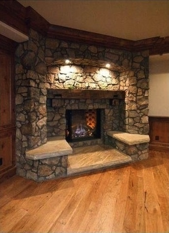 fireplace benches