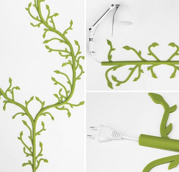 Prettify Your Cables by Wrapping Them in Florafil