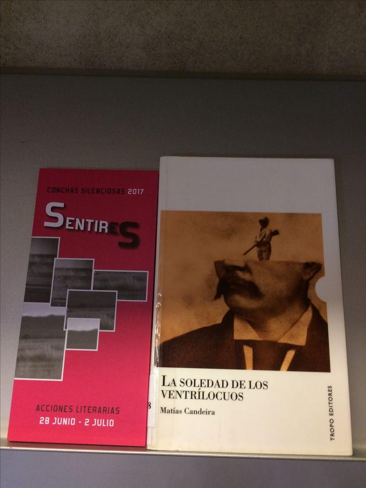 En el Escaparate, 1ª planta de la Biblioteca, podéis encontrar algunas de las obras de los escritores que participan en SENTIRES, Conchas Silenciosas 2017, Acciones literarias en las Conchas. Programación del Festival de las Artes de Castilla y León.