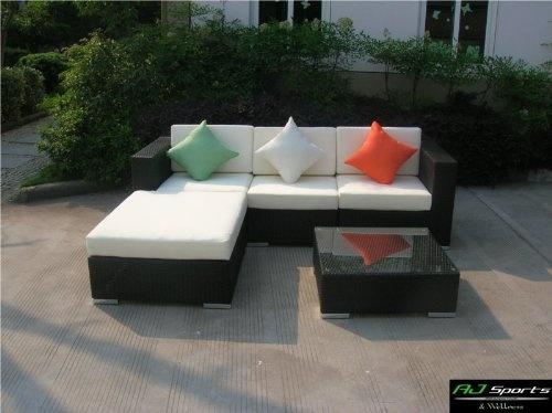 AJ Sports U0026 Wellness / Exklusive 12teilige S Rattan Lounge   Garnitur    Gartenmöbel