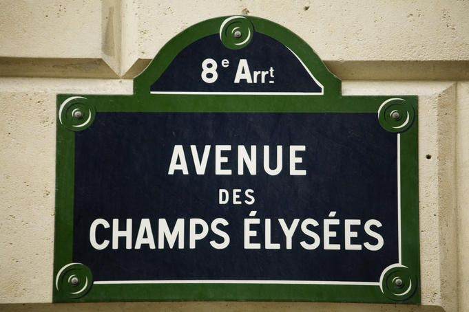 Love the French street signs. Here's the most famous!