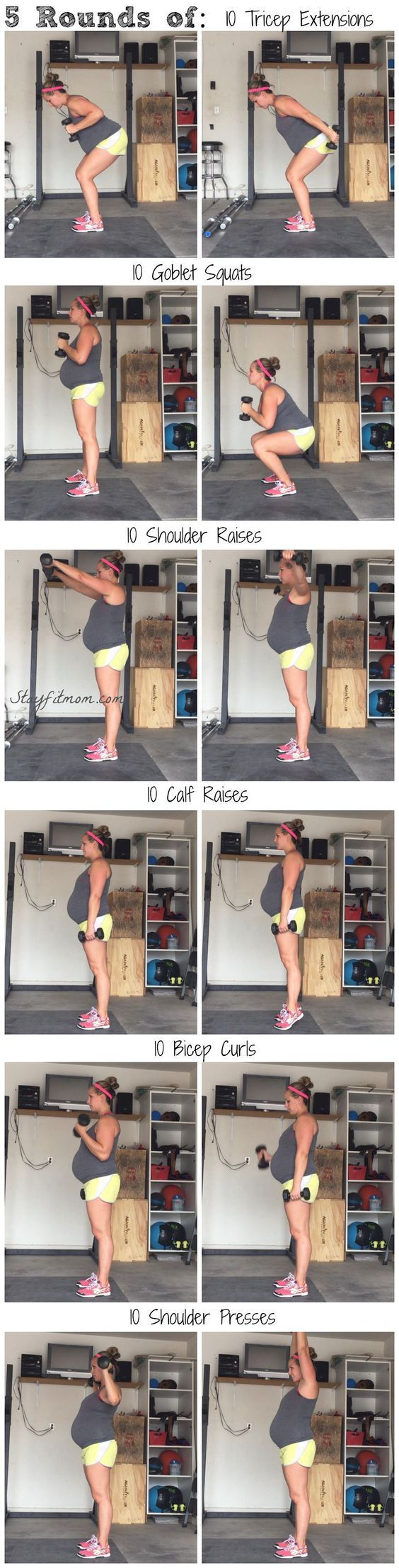 Workout I can easily do at home when I can't make it to the gym: