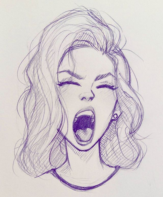 posted by cameronmarkart via instagram : Fun with expressions on my lunch break. #sketch #drawing #illustration #doodle #expression #cameronmarkart #art sketch,expression,doodle,cameronmarkart,art,illustration,drawing