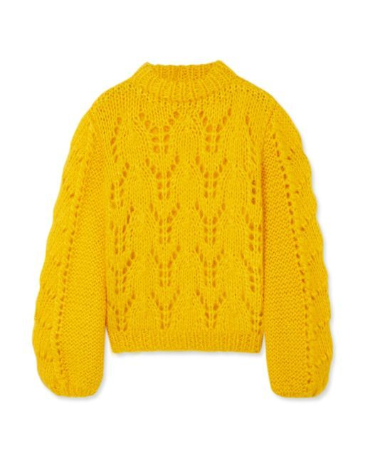 a2559527cf8 Women's Yellow Julliard Mohair Pullover | wish list | Mohair sweater ...