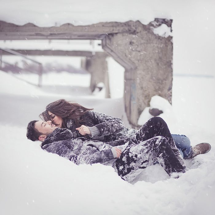 Engagement Pictures, Winter Couples, Snow Fight, Cute Engagement Photos, Snow Photos, Engagement Shoots, Winter Engagement Photos, Photo Shoots, Khomenko Deviantart Com