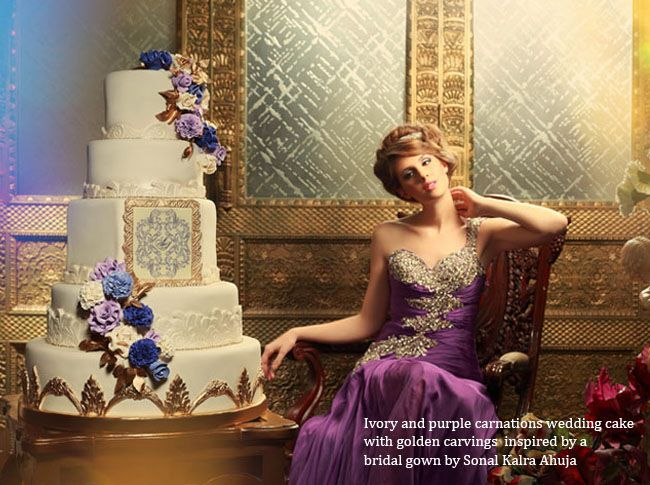 myShaadi.in > Wedding & Bride Inspired Cakes, by The Sweet Boutique