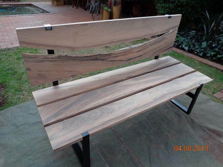 Garden bench from Matumi timber