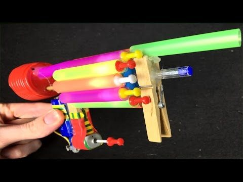 DIY Automatic NERF GUN - YouTube