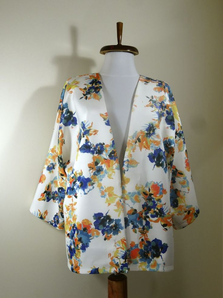 Floral Kimono Blazer