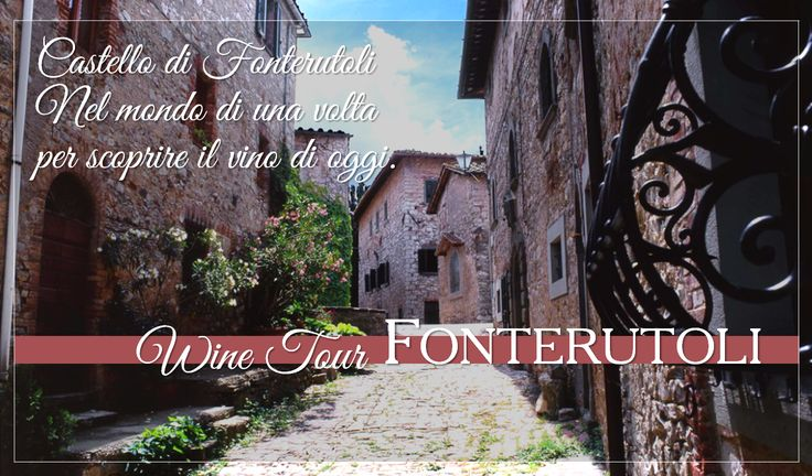 In the world that once was to discover the wine of today. For reservations for large groups contact our Enoteca at enoteca@fonterutoli.it @marchesimazzei #winetour #MarchesiMazzei #Fonteurutoli