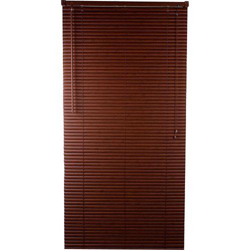 Persiana PVC D113 (160x160cm) Madeira Tabaco - Evolux