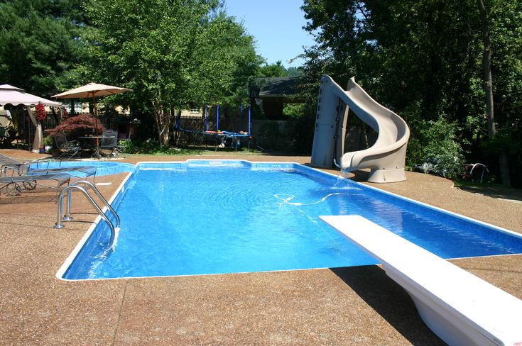 swimming pools rock!