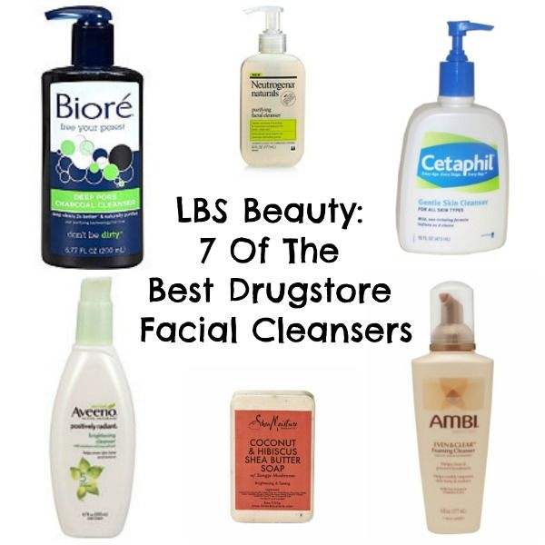 LBS Beauty: 7 Of The Best Drugstore Facial Cleansers