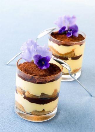 For dessert bar miniature Italian desserts since your favorite food. Tiramisù, the best italian dessert :)