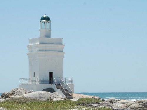Stompneus Point Light, Shelley Point, South Africa