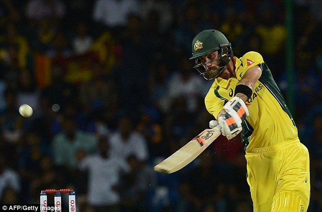 Glenn Maxwell blasted an unbeaten 145 from 65 balls as Australia swept aside Sri Lanka