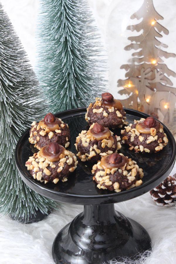 Weihnachtliche Schoko-Nuss-Kuller. Gibt es etwas Schöneres als in der Weihnacht …