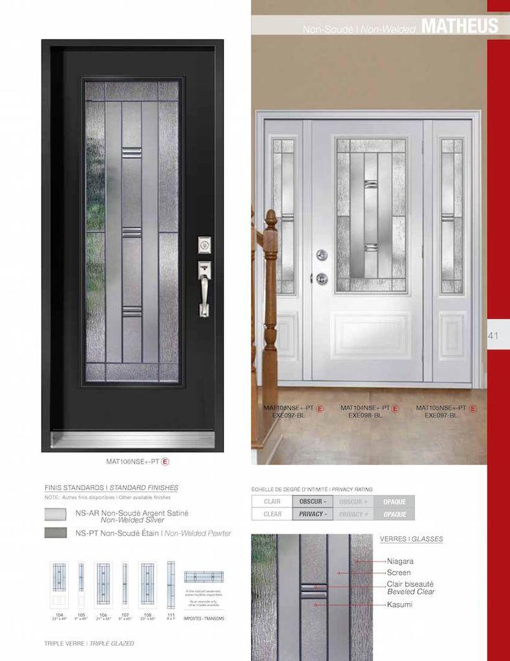 Verre Select Doors | Brock Doors u0026 Windows Brock Doors u0026 Windows  sc 1 st  Pinterest & 26 best FRONT DOORS images on Pinterest | Front doors Door entry ... pezcame.com
