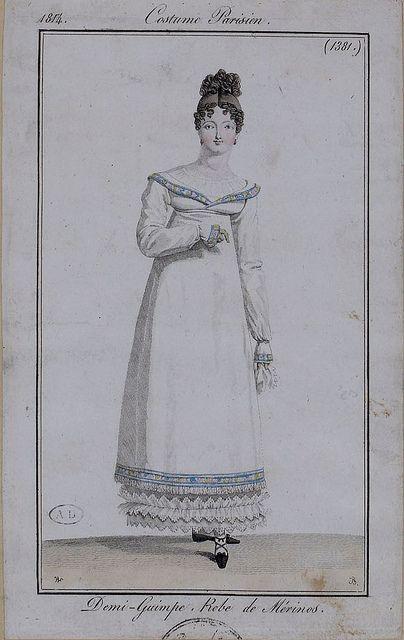 Costume Parisien 1814.