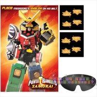 Power Rangers Samurai Party Game Poster (1ct)
