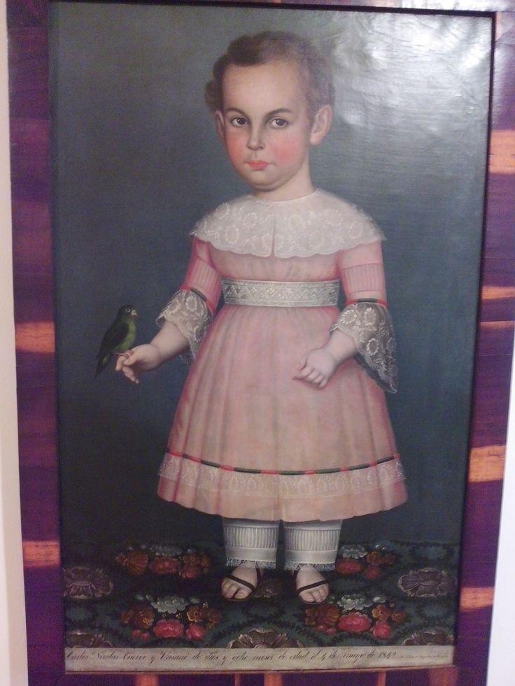 jose miguel figueroa bogota 1874 niño cuervo oleo sobre tela
