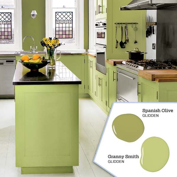 32 Painted Kitchen Wall Designs: 17 Best Ideas About Green Kitchen Walls On Pinterest