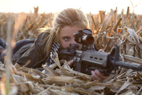 """""""'Hold it,Maggie."""" I held it steady, Asher laid down beside me """"Aim and then fire."""" I slowly pulled the trigger and the bullet went through the hog. He laughed """"Great shot Mags!!"""" He stood up and I followed him as we ran to collect the hog (Open Rp, I'm the girl)"""