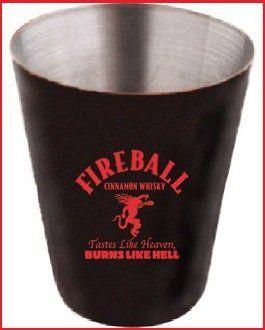 "in Good Spirits: Fireball Cinnamon Whisky.  Originally marketed as ""Dr. McGillicuddy's Fireball Whisky,"" Fireball is a low-proof cinnamon-flavored, whiskey-based liqueur.  http://goodspiritsonline.com/liqueurs/Fireball.html"