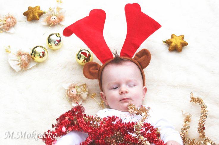 Christmas Photo, świąteczna sesja dziecięca, Koszalin
